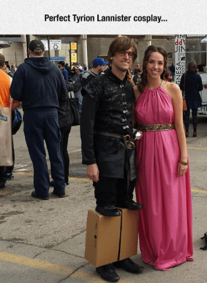 epicjohndoe:  He Takes Cosplaying To The Next Level: Perfect Tyrion Lannister cosplay...  PENI  IN  QFU epicjohndoe:  He Takes Cosplaying To The Next Level