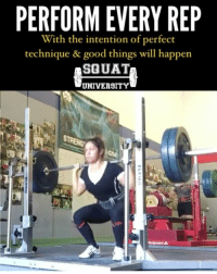 Every single time you touch the barbell you need to think about moving with perfect technique - from the easiest warm up rep all the way to your heaviest sets. 🏋🏽 . The athletes who make it to the top do so because they master the basics & have attention to detail in EVERY aspect of their training. Here's a great example from Emma McRae @emma_mcrae. ___________________________________ Squat SquatUniversity Powerlifting weightlifting crossfit training wod workout gym exercisescience fit fitfam fitness fitspo oly olympicweightlifting hookgrip nike adidas lift Crossfitter @powerliftingwomen @womenwhopowerlift womenwholift: PERFORM EVERY REP  With the intention of perfect  technique & good things will happen  SQUAT  UNIVERSITY Every single time you touch the barbell you need to think about moving with perfect technique - from the easiest warm up rep all the way to your heaviest sets. 🏋🏽 . The athletes who make it to the top do so because they master the basics & have attention to detail in EVERY aspect of their training. Here's a great example from Emma McRae @emma_mcrae. ___________________________________ Squat SquatUniversity Powerlifting weightlifting crossfit training wod workout gym exercisescience fit fitfam fitness fitspo oly olympicweightlifting hookgrip nike adidas lift Crossfitter @powerliftingwomen @womenwhopowerlift womenwholift