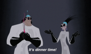 Perhaps most important, they also know what the best time of the day is.   24 Reasons Yzma And Kronk Are The Best Disney Characters Ever: Perhaps most important, they also know what the best time of the day is.   24 Reasons Yzma And Kronk Are The Best Disney Characters Ever