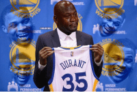 Kevin Durant's career with the Warriors in a nutshell. Credit: Saggi King   #Warriors Nation: PERM  ONBAMEMES  PERMANENTE Kevin Durant's career with the Warriors in a nutshell. Credit: Saggi King   #Warriors Nation