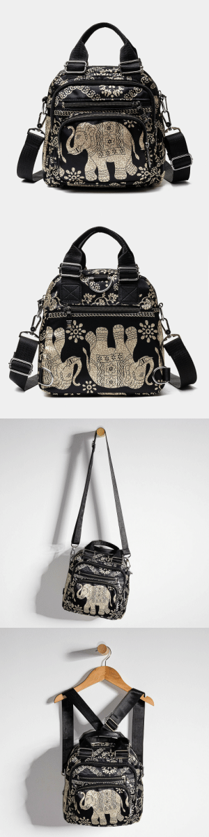 permanentfilemugglethings: Travel Nylon Handbags with Elephant pattern This  bag is made of Nylon. With its Adjustable Straps,Detachable Shoulder Strap decoration, you will look more fashionable and outstanding in the crowd. Simple and mini style design makes you feel light and easy to carry. You can take bags to go shopping, travel or parties, let it become your companion with lots of room to carry your daily essentials. Check out HERE 20% off coupon code:August20 : permanentfilemugglethings: Travel Nylon Handbags with Elephant pattern This  bag is made of Nylon. With its Adjustable Straps,Detachable Shoulder Strap decoration, you will look more fashionable and outstanding in the crowd. Simple and mini style design makes you feel light and easy to carry. You can take bags to go shopping, travel or parties, let it become your companion with lots of room to carry your daily essentials. Check out HERE 20% off coupon code:August20