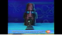 """A Dream, Fucking, and Future: persepumpkin:  doubletrouble7997:  nickelodeonhistory: a deleted scene from the 2001 spongebob episode """"just one bite."""" it was cut from future airings due to complaints that it was too violent.  THIS ACTUALY HAPPENED! I THOUGHT I FUCKING MADE THIS SHIT UP IN A DREAM OR SOME FUCKING SHIT. MY LIFE IS COMPLETE NOW!!!   This is like literally every episode of spongebob wdym its """"too violent"""""""