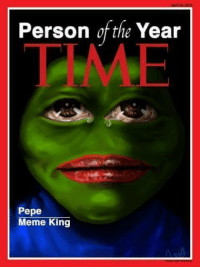 our first pepe???? ~Scoobz: Person of the Year  Pepe  Meme King our first pepe???? ~Scoobz