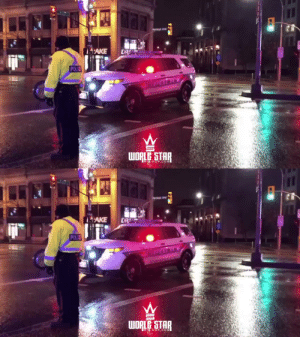 Can't believe the officer even let him try this! 😯👮♂️👏 (IG: j.ordanjohnson hoopdogg17 & kittn3r) https://t.co/zIaVoBF0H7: Pertage Ave  AKE  DR  POLIE  WORLE STAR   'AKE  DR  POLIE  WORLE STAR  TAR  HOP.COM Can't believe the officer even let him try this! 😯👮♂️👏 (IG: j.ordanjohnson hoopdogg17 & kittn3r) https://t.co/zIaVoBF0H7