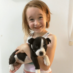 pet-corner:  My daughter and our new puppy / via: pet-corner:  My daughter and our new puppy / via