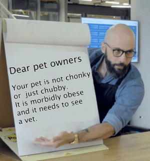 Pet owners, don't be dicks.: Pet owners, don't be dicks.