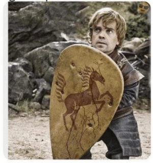 Peter Dinklage finds a guitar pic.: Peter Dinklage finds a guitar pic.