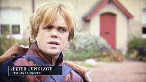 """Was watching GoT S1 special features and noticed something with Peter Dinklage's eyes. This interview seems to be from the original pilot and it looks like they initially included Tyrion's mismatched eyes, like in the books.: PETER DINKLAGE  """"TYRION LANNISTER"""" Was watching GoT S1 special features and noticed something with Peter Dinklage's eyes. This interview seems to be from the original pilot and it looks like they initially included Tyrion's mismatched eyes, like in the books."""