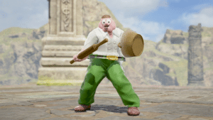 Peter Griffin in soulcalibur 6: Peter Griffin in soulcalibur 6