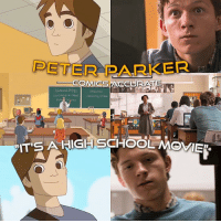 "Memes, Spider, and SpiderMan: PETER PARKER  s COMICS ACCURATE  sunival the Fittest Interacting systems  SAHIGH SCHOOL I HIGHLY recommend watching Spectacular Spider-Man before Homecoming. So you don't complain about the movie being a high school movie. It is part of peter's life and seeing it coming to big screen ""accurately"" is all I ever wanted 🙏 SpiderMan PeterParker GwenStacy SpiderGwen MaryJaneWatson MJ SpiderManHomecoming TheAmazingSpiderMan 2017 Vulture TheVulture Marvel MarvelComics MCU Superheroes TomHolland IronMan Zendaya LauraHarrier TonyRevolori MichaelKeaton AndrewGarfield TobeyMaguire Vulture"