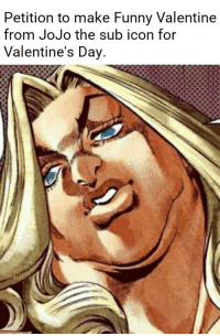 Petition To Make Funny Valentine From Jojo The Sub Icon For