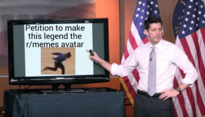 He deserves it via /r/memes https://ift.tt/2If8aBq: Petition to make  this legend the  r/memes avatar He deserves it via /r/memes https://ift.tt/2If8aBq