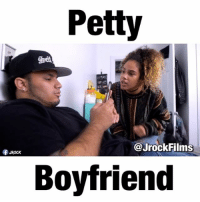Petty boyfriends be like ... W- @karinadunbar & @psychokiitty: Petty  @Jrock Films  Rock  Boyfriend Petty boyfriends be like ... W- @karinadunbar & @psychokiitty