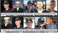 Remains of all missing Sailors on the SS McCain have been found! Rest In Peace Patriot's! God Bless their families 🇺🇸 https://t.co/plq48xzG6e: Petty Officer ist Class  Petty Officer 3rd Class  Petty Officer 2nd Class  Jacob Daniel Drake  Petty Officer 3rd Class  Petty Officer 3rd Class  yon  td  Petty Officer ist Class  Abraham Lopez  Petty Officer and Class  Petty Officer and Class  Petty Officer 3rd Class  Petty Officer and Class  Kevin Sayer Bushel Timothy T. Eckels Jr.John H. Hoagland III Corey George Ingram Remains of all missing Sailors on the SS McCain have been found! Rest In Peace Patriot's! God Bless their families 🇺🇸 https://t.co/plq48xzG6e