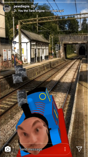 Dank, Tank, and Engine: pewdiepie 2h  You the Tank Engine from joel.cgul  Py  Send message Felix the Dank engine