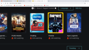 Sith, Pinterest, and Apex: PewDiePie DLive  DLive Live Stream on Block X  /t/PewdiepieSubmissions  +  DLive Inc. [US]  dlive.tv  M k Jump Rope Games.  W Mrs. McNary's Engli..  GQuickTurn Speed .  (6) Andrew Kern on..  Pinterest  Show X Tagged Content  Language  SEEALL  FORTNITE  CHATTING  APEX  LEGENDS  SEASON OP  BILE  ENDS  FLAYERUNKNOWN'S  BATTLEGROUNDS  MBBILE  RANG  egends:...  atching  PUBG Mobile  Chatting  Fortnite  Apex Legends  390 watching  328 watching  148 watching  110 watching  Trending Oh how the mighty sith have fallen.