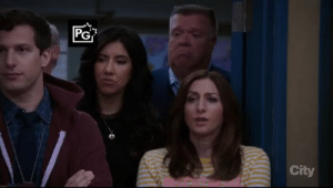 Fucking, Tumblr, and Brooklyn: PG  City weetaliix: itstenafterfour:  antifasith:  smolperalta: please watch brooklyn nine nine This was the best opener of the season   please watch this gem of a show   This was fucking hilarious so I will