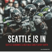 Can the Seahawks make a deep playoff run?  LIKE Seahawks Nation!: PG  SEATTLE IS IN  SEATTLE SEAHAWKS CLINCH WILD CARD PLAYOFF BERTH  CLUTCHPOINTS Can the Seahawks make a deep playoff run?  LIKE Seahawks Nation!