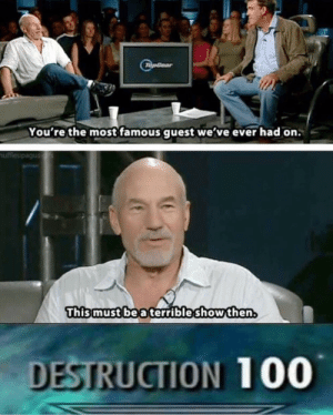 Anaconda, Tumblr, and Blog: pGear  You're the mostfamous guest we've ever had on  uffleupagus  Thismust be a terrible show then.  DESTRUCTION 100 srsfunny:TopGear drop test