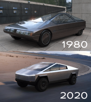 40 years later.: Ph4  1980  2020  TESLA 40 years later.