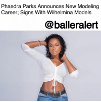 "Children, Goals, and Lawyer: Phaedra Parks Announces New Modeling  Career; Signs With Wilhelmina Models  @balleralert Phaedra Parks Announces New Modeling Career; Signs With Wilhelmina Models- blogged by @MsJennyb ⠀⠀⠀⠀⠀⠀⠀ ⠀⠀⠀⠀⠀⠀⠀ Since being dismissed from the cast of the ""Real Housewives of Atlanta,"" PhaedraParks has added a new gig to her longstanding career in the industry. According to Us Weekly, the lawyer-turned-reality star-turned mortician has now kicked off her career as a model. ⠀⠀⠀⠀⠀⠀⠀ ⠀⠀⠀⠀⠀⠀⠀ The publication caught up with the newly named Wilhelmina model to discuss her new career move, her body, and her goals and inspirations. ⠀⠀⠀⠀⠀⠀⠀ ⠀⠀⠀⠀⠀⠀⠀ ""I think I'm the face of 'yes you can,'"" Parks told the publication. ""I'm a small town girl who has followed her dreams. Yes you can be a mom, yes you can be a lawyer and yes you can be a model. When the opportunity presented itself some people asked me 'Why?' and I said 'Why not?' A supermodel started this company and she wanted to give the power back to the women and I think I stand for the same things. I have the opportunity to show people that beauty can come in every size, shade, color, and age. It's exciting and an adventure."" ⠀⠀⠀⠀⠀⠀⠀ ⠀⠀⠀⠀⠀⠀⠀ Parks then went on to discuss how she felt about representing an ""under-served market,"" where she explained that in this time, ""women need to be empowered to stand in their truth, to be different, dare to be diverse and stand up in times of controversy."" ⠀⠀⠀⠀⠀⠀⠀ ⠀⠀⠀⠀⠀⠀⠀ When it comes to the particular campaigns she wants to focus on, the mother-of-two explained that she would love to be the face of a skincare or cosmetic line. However, she doesn't mind showing some skin for the camera. ⠀⠀⠀⠀⠀⠀⠀ ⠀⠀⠀⠀⠀⠀⠀ ""I don't mind baring it all, I have been wearing g-strings and baring it all really every season for seven years. I had two children on national TV. I love nudity! I've bought a lot of exotic entertainers on the show, so I love my body and I've got curves. I'm a mother of two, so I'm not perfect, but I have no problem getting naked."" ⠀⠀⠀⠀⠀⠀⠀ ⠀⠀⠀⠀⠀⠀⠀ As things turn around in her life, from her being fired to her divorce, Parks has finally started to be happy with who she is. And now she believes, she is getting better with time."