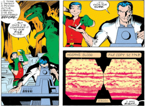 phantomchick:  jerseydevious:  Detective Comics #571 bonus: what the hell is happening with bruce's outfit right here  THIS IS EXTRAORDINARLY ADORABLE. : phantomchick:  jerseydevious:  Detective Comics #571 bonus: what the hell is happening with bruce's outfit right here  THIS IS EXTRAORDINARLY ADORABLE.