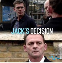 PHARMACY  ACKS DECISION  EastEndersSpoilers Thursday: Jack made the decision to not have Roxy's name on the headstone and just have Ronnie's, but Billy doesn't agree with him! The two clash over his decision on Thursday.. EastEnders JackBranning BillyMitchell ScottMaslen PerryFenwick @bbceastenders @realscottmaslen