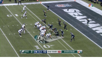 Football, Memes, and Goal: PHI 3  SEA 10  9:48 04 2nd & Goal Carson Wentz loses the football out of the back of the end zone.  Touchback.  Seahawks ball. Going the other way. #PHIvsSEA https://t.co/E9Q5tmJu7o