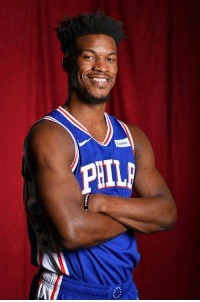 Jimmy Butler, J.J. Redick, and Sixers: PHI Sixers new starting 5, per Tim Bontemps:  Ben Simmons JJ Redick Jimmy Butler Wilson Chandler Joel Embiid