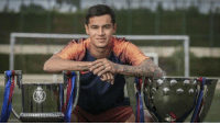 Barcelona, Soccer, and Liverpool F.C.: Philippe Coutinho:  6 years at Liverpool : 0 trophies   4 months at Barcelona: 2 trophies https://t.co/z8YJV3agUz