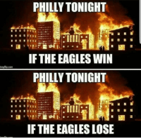 "<p>City of Brotherly Love via /r/memes <a href=""http://ift.tt/2BVa1Fu"">http://ift.tt/2BVa1Fu</a></p>: PHILLY TONIGHT  IF THE EAGLES WIN  PHILLY TONIGHT  imgflip.com  IF THE EAGLES LOSE <p>City of Brotherly Love via /r/memes <a href=""http://ift.tt/2BVa1Fu"">http://ift.tt/2BVa1Fu</a></p>"