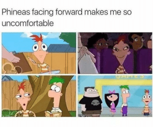 Perry the Platypus - Daily LOL Pics: Phineas facing forward makes me so  uncomfortable  SAME S Perry the Platypus - Daily LOL Pics
