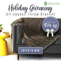 lol-coaster:Our holiday Giveaway has begun! Superior Quality Throw Blanket  : PHOENIX VOYAGE  Inspiring Solutions For a Better World  All s e ason Th row BIanket  Value at  $84.40  auh  07  ENTER TO WIN lol-coaster:Our holiday Giveaway has begun! Superior Quality Throw Blanket