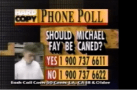 the caning of michael fay