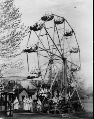 Ku Klux Klan at a carnival in Canon City, 1925: Phot 6  Rolfe Ku Klux Klan at a carnival in Canon City, 1925