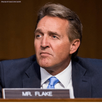 Memes, News, and Breaking News: Photo By Bill Clark/CO Roll CalyAP)  MR FLAKE BREAKING NEWS: Sen. Jeff Flake, R-Ariz., often seen as a critic of President Trump, said Tuesday he won't seek re-election in 2018, Fox News has confirmed.