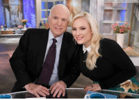 "Abc, Memes, and Earth: (Photo by Heidi Gutman/ABC via Getty Images) Meghan McCain tweeted about the passing of her father, Sen. John McCain: ""But in this loss, and in this sorrow, I take comfort in this: John McCain, hero of the republic and to his little girl, wakes today to something more glorious than anything on this earth."""