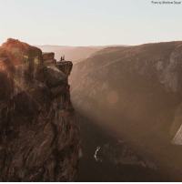 A photographer has enlisted the help of the internet to locate a mystery couple who appeared to be getting engaged on the edge of a cliff at Yosemite National Park earlier this month. The couple has still not been identified.: Photo by Matthew Dippel A photographer has enlisted the help of the internet to locate a mystery couple who appeared to be getting engaged on the edge of a cliff at Yosemite National Park earlier this month. The couple has still not been identified.