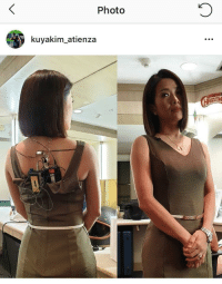 Being a news anchor makes you look like a suicide bomber from behind: Photo  kuyakim atienza Being a news anchor makes you look like a suicide bomber from behind