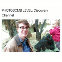 Funny, Photobomb, and Baby: PHOTOBOMB LEVEL: Discovery  Channel You and me baby ain't nothin but mammals
