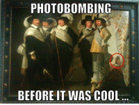 photobombing: PHOTOBOMBING  BEFORE IT WAS COOL