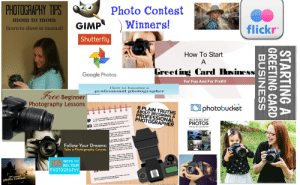 Now I'm a Professional Photographer Because I Have a Camera and a Website Starter Pack: PHOTOGRAPHY TIPS  Photo Contest  mom to mom  Winners!  GIMP  (learn to shoot in manual)  flickr  TM  Shutterfly  How To Start  A  Greeting Card Business  Google Photos  For Fun And For Profit!  How to become a  Free Beginner  professional photographer  Photography Lessons  Ophotobucket  8 PLAIN TRUTHS  ABOUT BECOMING A  PROFESSIONAL  PHOTOGRAPHER  sianal - no matter what your currerit knowledge  a suc  1. If love photography, you can hecorne a profes-  t pert of becom  SELL & RE-SELL YOUR  2. The most imporiant  O cesutul photographer is loving what  PHOTOS  APHERS  Penole who pursue photography for feme and  ucteestul.  LEARN HOW TO SELL YaUR PHOTOERAPHS  ch or how little photographic  right now, Vo gls.  on a part-time  can put your  spending money to support  ohby wL heip support you!  Follow Your Dreams:  Take a Photography Course.  e your photographic expertise,  nd income will Increase as wellL.  it taken to attract and sathfy  ents, or to branch out into mere  is carcer takes time dedication.  a develop a uwique talent that dif-  from the norm.  pak, but is the product of your awn  105  PHOTOGRAPHY  n. This talent can't be  WAYS TO  SELL YOUR  d to acquire the skills of a profet-  rapher: composhion and control of  29h ann ual  photo contest  Acaraer in profemional plotograpiny is ty aitainable  with a camtainatinn of skäl and paselon.  h a It nhntnarentrr  STARTING A  GREETING CARD  BUSINESS Now I'm a Professional Photographer Because I Have a Camera and a Website Starter Pack