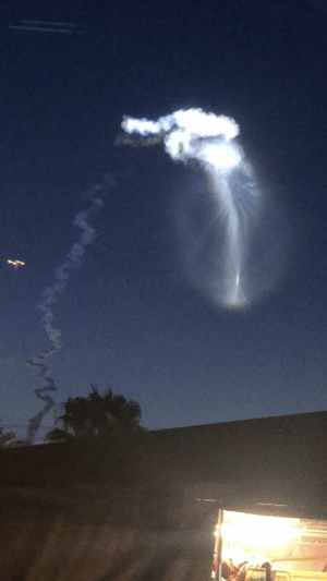 photos-of-space:  Atlas V seen from Orlando: photos-of-space:  Atlas V seen from Orlando