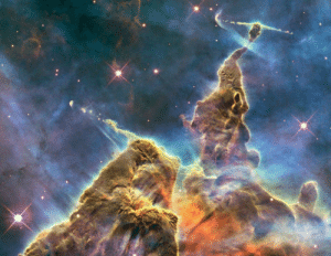photos-of-space:  Carina Nebula's 'Mystic Mountain': photos-of-space:  Carina Nebula's 'Mystic Mountain'