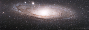 Tumblr, Blog, and Drive: photos-of-space:  I found this 8 yrs old astrophoto of Andromeda Galaxy on my hard drive and decided to post it here. Enjoy 330 min of exposure!