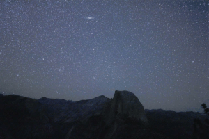 photos-of-space:  Just the seemingly infinite vastness over Half Dome in Yosemite, CA [OC]: photos-of-space:  Just the seemingly infinite vastness over Half Dome in Yosemite, CA [OC]