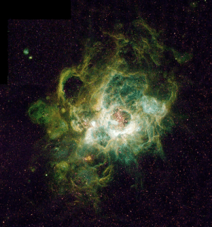 photos-of-space:  NGC 604, a huge H II region in the Triangulum Galaxy: photos-of-space:  NGC 604, a huge H II region in the Triangulum Galaxy