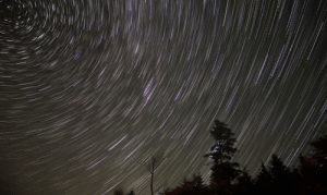 photos-of-space:  [OC] North Star and the beautiful star trails - White Mountains, New Hampshire: photos-of-space:  [OC] North Star and the beautiful star trails - White Mountains, New Hampshire