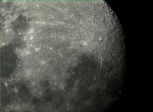 photos-of-space:  [OS] Close up of the moon my brother took: photos-of-space:  [OS] Close up of the moon my brother took