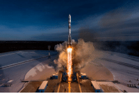 photos-of-space:  Soyuz lifts off from Vostochny Cosmodrome, Credit: GK Launch Services: photos-of-space:  Soyuz lifts off from Vostochny Cosmodrome, Credit: GK Launch Services